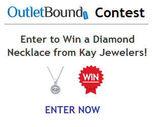 OutletBound Contest - Win a Diamond Necklace from Kay Jewelers