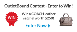 OutletBound Contest - Win a COACH Leather Satchel